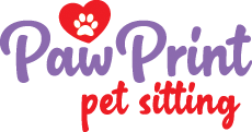 Paw Print Pet Sitting Logo