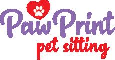 Paw Print Pet Sitting Logo